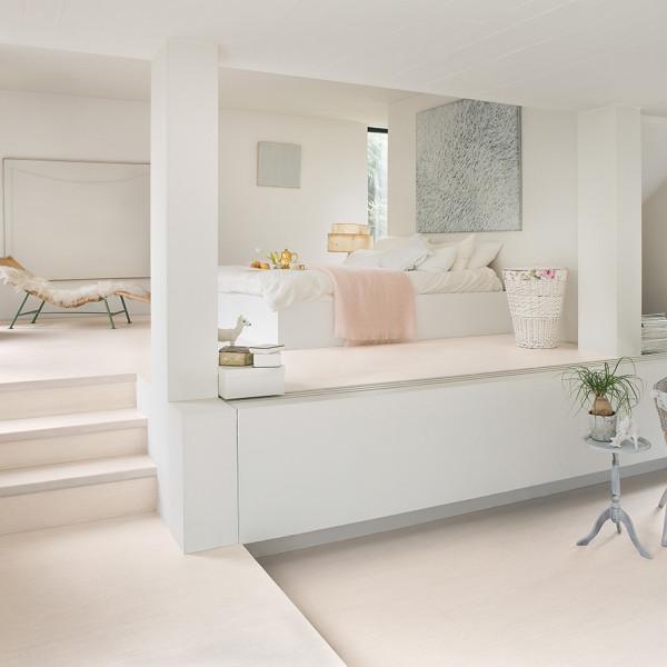 Laminaat wit plank woonkamer